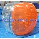 PVC/TPUの人間の膨脹可能で豊富な球か泡サッカーボール