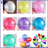 """12 de """" Ronde Ballon van het Latex van de Parel van de Vorm met de Aangepaste Druk van het Embleem"""