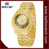 Horloge van het Kwarts van het Roestvrij staal van de Manier van de Vrije tijd van de Dames van het Merk van de Luxe van Belbi het Waterdichte