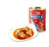 Tampa de abertura fácil exportação sardinha em lata em molho de tomate