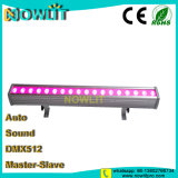 18 uds. de 3W 3in1 RGB LED Bañador de pared exterior