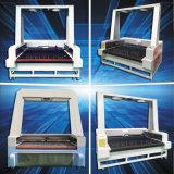 Máquina de corte láser de la cámara CCD Etiqueta CNC/Logo/cuero/tejido/Papel Cortador Visual