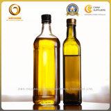 De naar maat gemaakte Fles van het Flintglas 250ml Olijfolie (750)