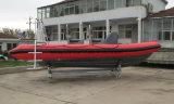 Barco inflable rígido del salto de Aqualand 19feet los 5.8m/barco de la costilla (rib580t)