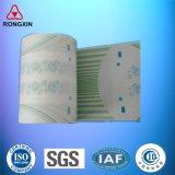 Película laminada impresa Backsheet del PE de la materia prima del pañal