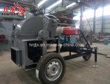 Machine van het Zaagsel van de dieselmotor de Mobiele Houten