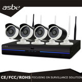 Tempo de 2 MP Bullet P2P Kit NVR Segurança CCTV Câmara IP