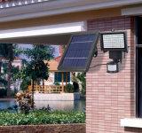Реклама на щитах солнечной энергии на открытом воздухе под руководством линейного входа в центре внимания