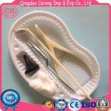 Kit otorinolaringoiatrico di plastica sterile a gettare dell'esame