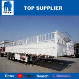 Veicolo del titano il tipo camion a base piatta della rete fissa del carico della rete fissa del semirimorchio