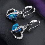 Оптовая торговля сердце дизайна моды женщин Earring Rhinestone Crystal