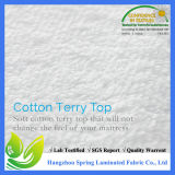 Maak Stootkussen van de Matras van Jersey van de Polyester van 100% het Waterdichte waterdicht