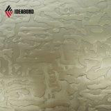 Ideabond 1220*2440mm de aluminio gofrado Panel Compuesto de plástico