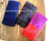 새로운 디자인 형식 숙녀 손에 의하여 뜨개질을 하는 머리띠 Neckwarmer 터번