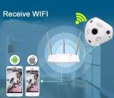 Caméra de sécurité panoramique sans fil de télévision en circuit fermé de Vr de 360 degrés pour la maison