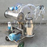 Máquina de ordenha bomba de vácuo com barris de Duplo Ordenhador vaca