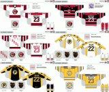 Customized Homens Mulheres Crianças Liga de Hóquei Americana Providência Bruins 2007-2016 Hóquei no Gelo Jersey
