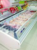 상업적인 슈퍼마켓 장비 큰 수용량 고기 진열장