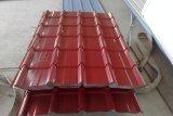 Couleur revêtu de carton ondulé en acier galvanisé en bobine / feuille (Yx10-125-875, yx14-65-865)