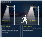 Lumière 60W de jardin de réverbère de panneau solaire de prix de gros