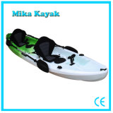 3 personne bateau en plastique de kayak de mer pour la vente de bateaux de pêche