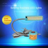 Alto brillo LED flexible de la luz de la máquina de coser