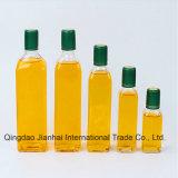 100-1000ml redondo/frasco de vidro petróleo verde-oliva do quadrado