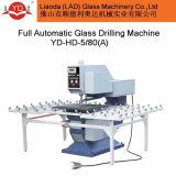 Furos de vidro que fazem a máquina para o processamento da perfuração