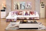 Sofa sectionnel de sofa sectionnel d'or de qualité