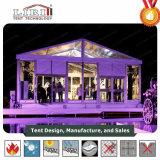 ガラス壁が付いている贅沢な結婚式の玄関ひさしのテント