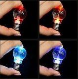 Nette LED Flashlight Bulb Keychain mit Logo Printed (4058)