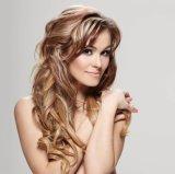 ブラジルの毛の女性のToupee 100%の人間の毛髪360度のボディ波カラー613