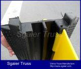 Protetores do cabo da capacidade elevada & proteção de borracha Sgaier do cabo