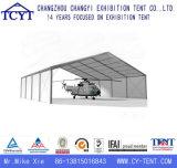 Grande barraca Rainproof impermeável durável do hangar dos aviões do helicóptero