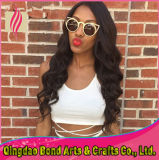 Virgin brasiliano Full Lace Human Hair Wigs per le donne di colore