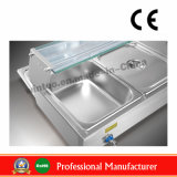 Desktop commercial Electric Bain Marie pour 2015 Sale mieux évalués Wit Hce (BM-3)