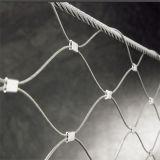 Hand-Woven гибкий кабель сетку из нержавеющей стали