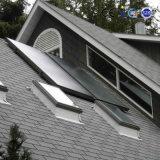 Tampa de vidro temperado colector solar de painel plano