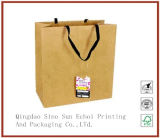 [أفّست برينتينغ] [كرفت ببر] [هند بغ] ورقة تعليب حقيبة مع قطر حبل