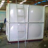 Вид в поперечном разрезе из волокнита резервуар для воды, пластик GRP резервуар для воды