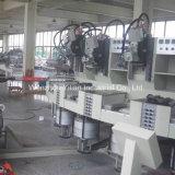 安全靴のためのBhPU09d4回転式タイプPUの注入機械