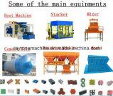 Полноавтоматическое Qt10-15 блокируя вымощающ машину делать кирпича цемента