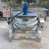 Inclinación de la caldera de mezcla vestida con la calefacción eléctrica
