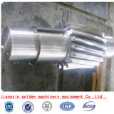 Forja AISI4140 AISI4130steel que conduce el eje de la turbina