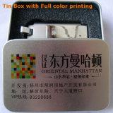 Mecanismo impulsor superior del flash del USB del metal pesado de la insignia de la torcedura de encargo del eslabón giratorio (YT-1209)