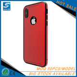iPhone 8 аргументы за телефона Tempered стекел рамки металла добавочное