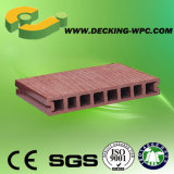 Plancher normal bon marché et populaire imperméable à l'eau de Decking de l'Europe WPC