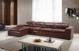 Comercial moderno mobiliário de sala de estar sofá de couro (HC2078)