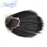 Pelucas llenas del pelo humano del cordón con la peluca recta rizada del pelo de Remy del pelo del bebé