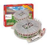 Le stade denteux de papier du puzzle DIY de jeux du matériel 3D déconcerte 10219079